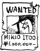 Wanted Mikio Itoo