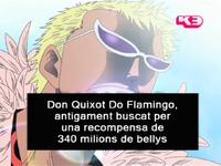 Presentació Doflamingo doblatge català