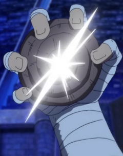 Usopp usant Dial de Flash