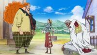 Garp, Makino i Dadan