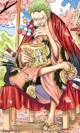 Zoro manga post Infobox
