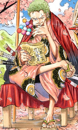Zoro manga post Infobox