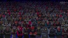 Exèrcit d'en Kaido de fruites artificials