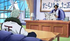 Aokiji i Smoker