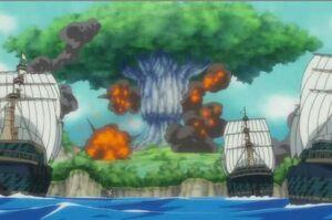 Ohara és destruida pel Buster Call
