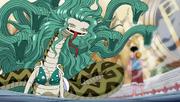 Gran serp dividida en 8