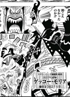 Gecko Moria Manga Infobox
