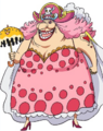 Model de la Big Mom a l anime