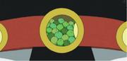 Cinturó pop green
