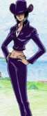 Nico Robin Jaya Arc outfit