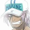 Fullbody marine portrait