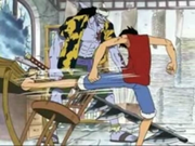 Ruffy vs Arlong