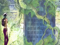 Poneglyph ruïnes Shandra