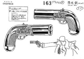 Pistola de flash funcionament