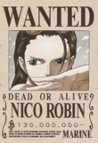 Nico Robin 3 Wanted Poster