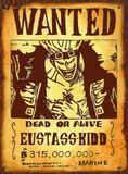 Wanted Eustass Kid