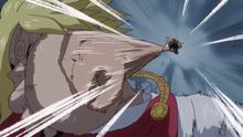 Luffy Frappe Sanji