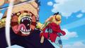 Luffy bat Kamijiro