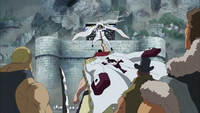Aokiji vs Whitebeard