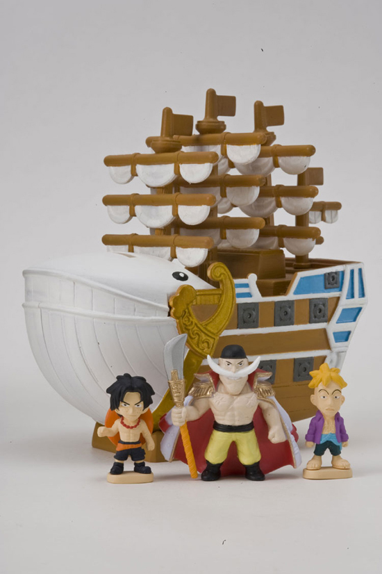 One Piece Anime Capsule Pirate Ship Deck World Collection Second Chapter Usopp