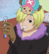 Chopper in Sanji's Body