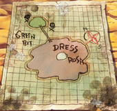 Dressrosa and Green Bit Map