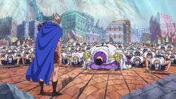 Issho s'excuse auprès du Roi