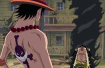 Blackbeard Reveals His Yami Yami no Mi Powers