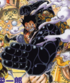 Gear Fourth coloreado en el manga