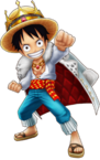 Luffy White Storm Thousand Storm