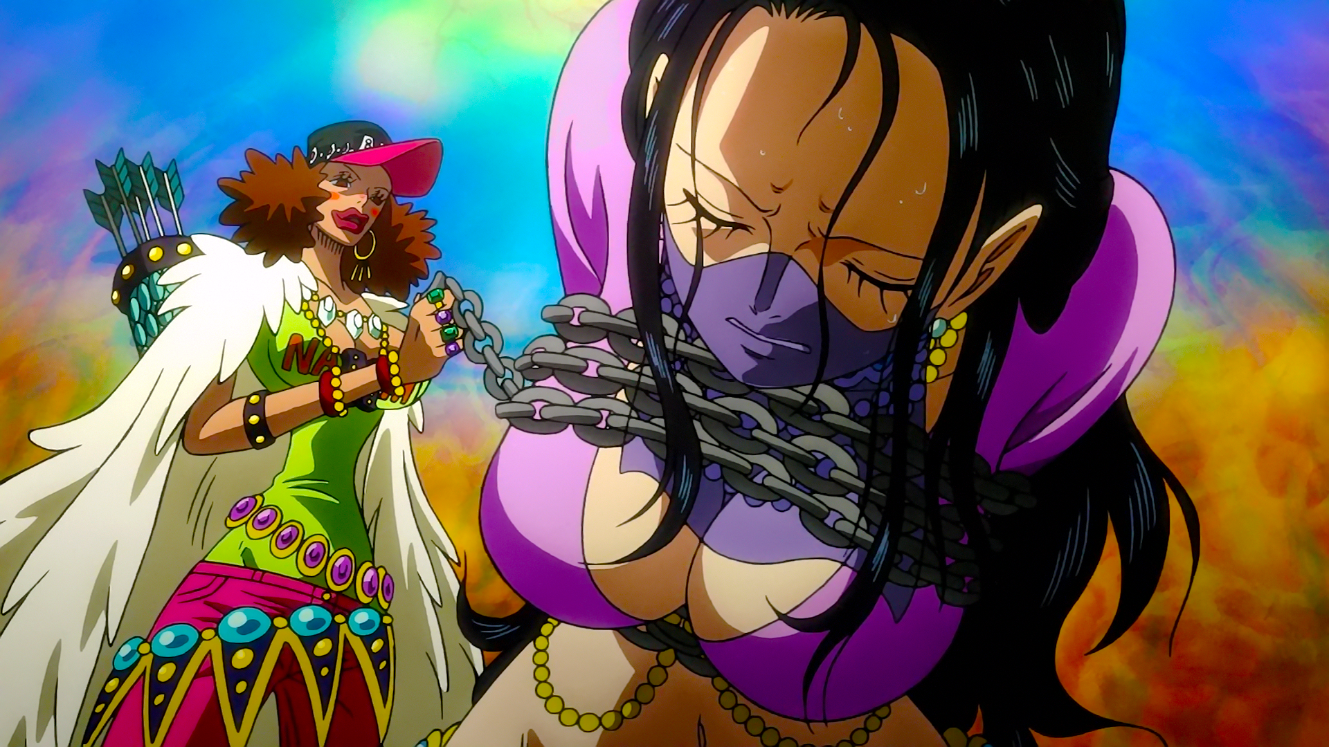 Image - Nico Robin captured by Naomi Drunk.png | One Piece