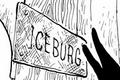 Plaque d'Iceburg