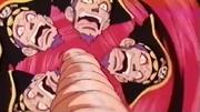Luffy derrota a Ganzack