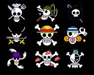 One Piece jolly roger mugiwara