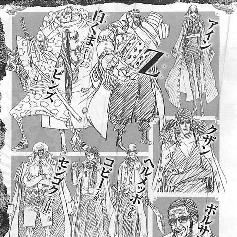 Alcuni personaggi del film, tra cui i principali antagonisti