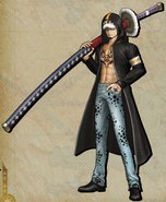 DLC Trafalgar D. Water Law Pirate Warriors 3