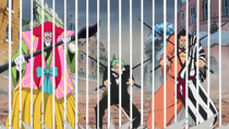 Zoro and Samurai Push Birdcage