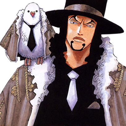 Lucci and Hattori's Coats in the Manga