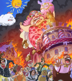 Big Mom entra en cólera