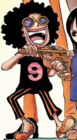 Brook As a Child in The Manga