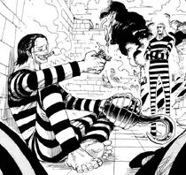 Crocodile y Daz Bones deciden quedarse en su celda