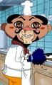 Foxy disfrazado de chef