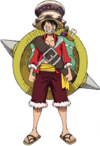 Luffy Stampede Outfit
