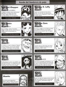 Protagonistas One Piece Manga España