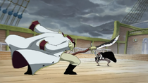 Shanks vs. Whitebeard