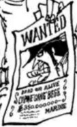 Bege's Wanted Poster