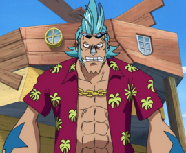Franky Anime Debut Infobox