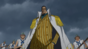 Kizaru Arrives with Marines on Piriodo