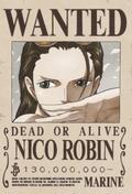 Poster Buronan Nico Robin