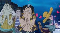 Praline abraza a Aladine